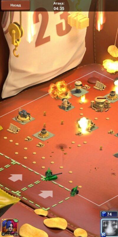 Скриншот Army Men Strike для Android