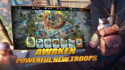 Скриншот Art of Conquest: Dragon Dawn для Android