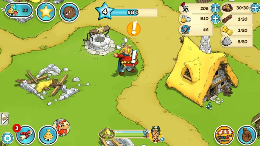 Скриншот Asterix and Friends для Android