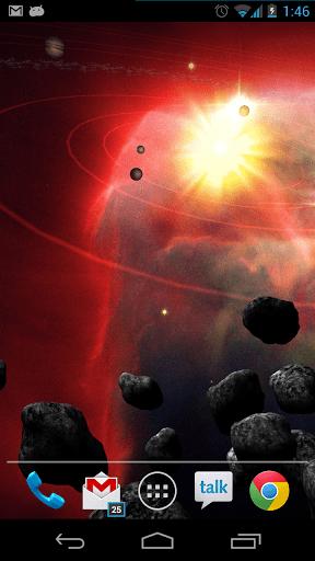 Скриншот Asteroid Belt для Android