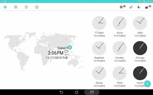 Скриншот ASUS Digital Clock Widget для Android