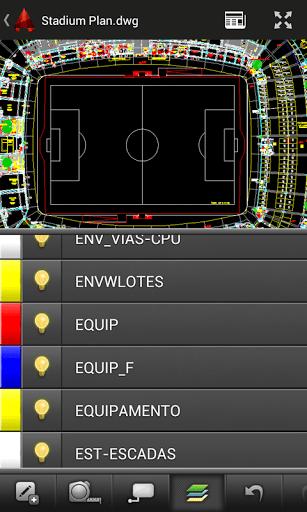 Скриншот AutoCAD 360 для Android