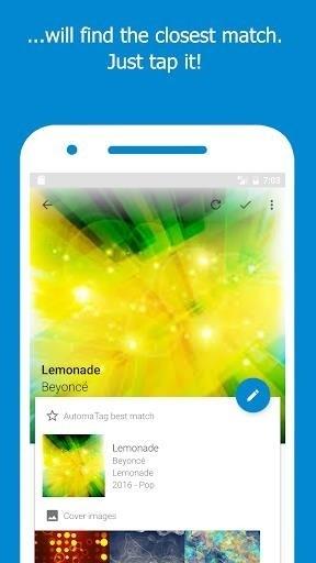 Скриншот Automatic Tag Editor для Android