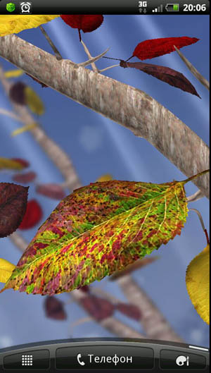 Скриншот Autumn Tree для Android
