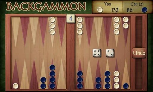 Скриншот Backgammon Free для Android