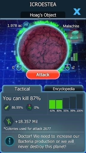 Скриншот Bacterial Takeover для Android