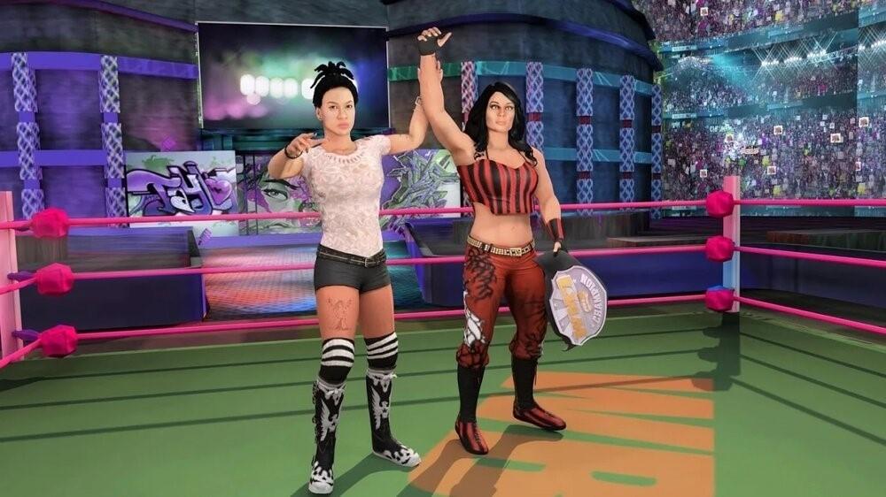 Скриншот Bad Girls Wrestling Fighter для Android