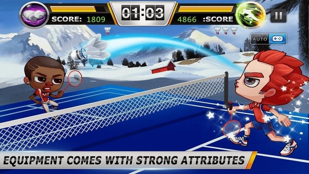 Скриншот Badminton для Android