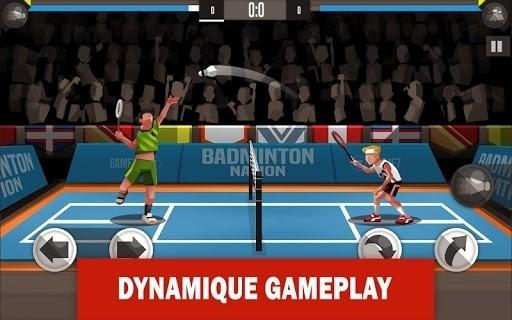 Скриншот Бадминтон лига для Android