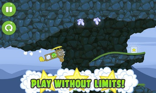 Скриншот Bad Piggies для Android
