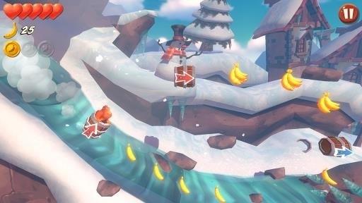 Скриншот Banana Kong Blast для Android