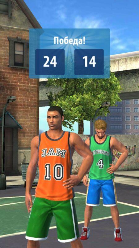 Скриншот Basketball Stars для Android