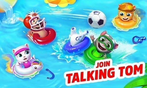 Скриншот Бассейн Говорящего Тома для Android