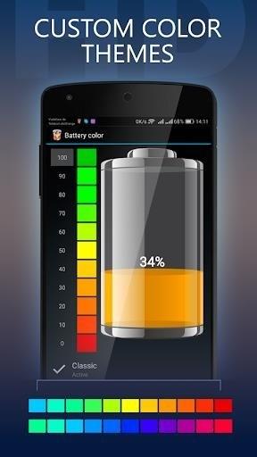 Скриншот Battery HD Pro для Android