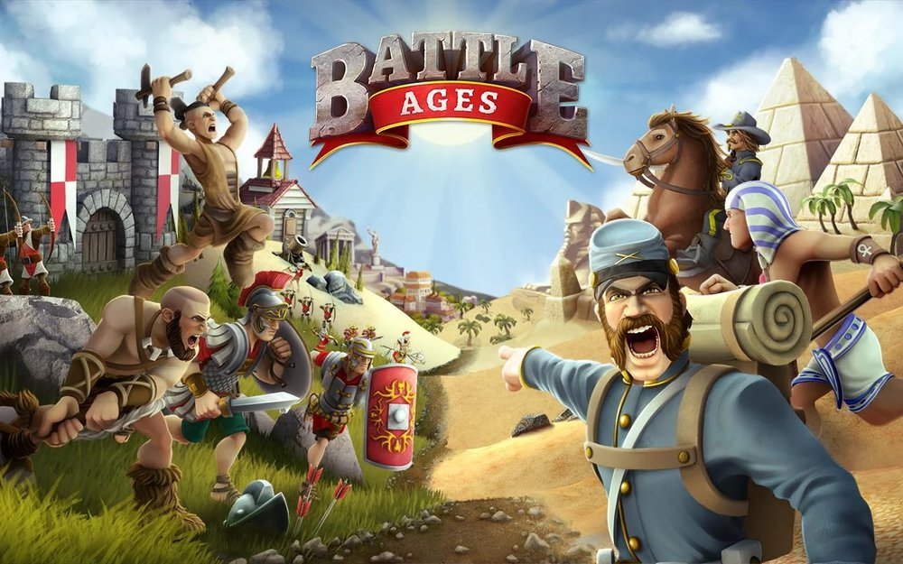 Скриншот Battle Ages для Android