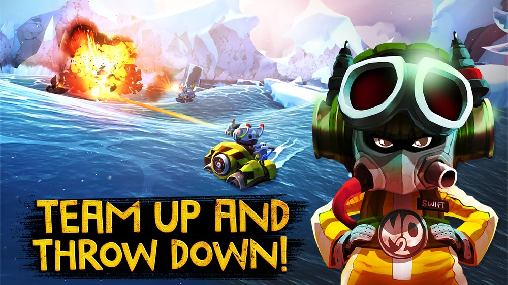 Скриншот Battle Bay для Android