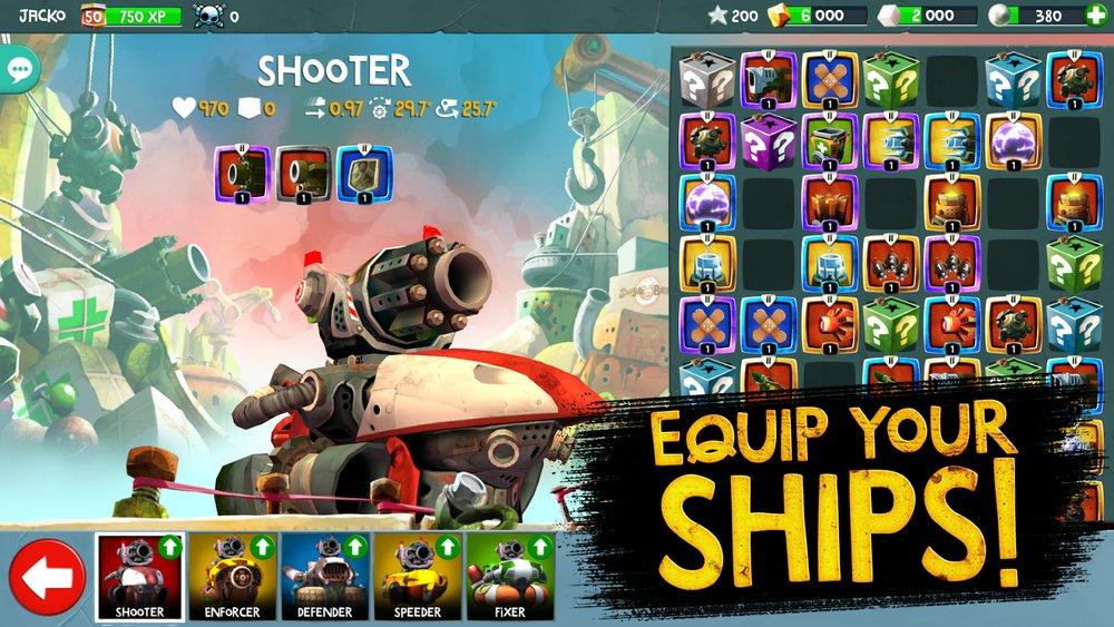 Скриншот Battle Bay для Android
