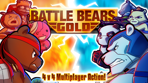 Скриншот Battle Bears Gold для Android