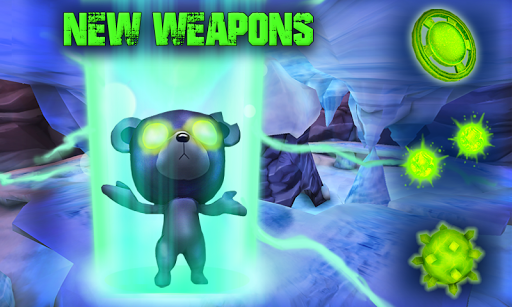 Скриншот Battle Bears Gold для Android