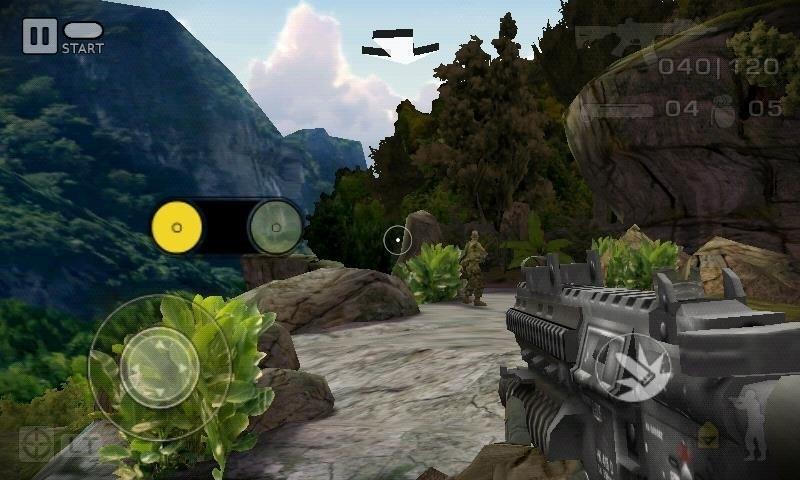 Скриншот Battlefield: Bad Company для Android