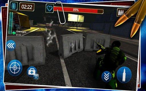 Скриншот Battlefield Frontline City для Android