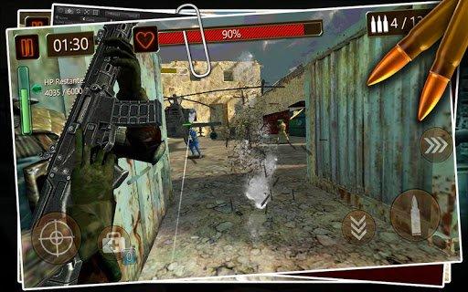 Скриншот Battlefield WW2 Combat для Android