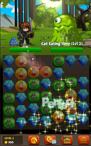 Скриншот Battle Gems (AdventureQuest) для Android