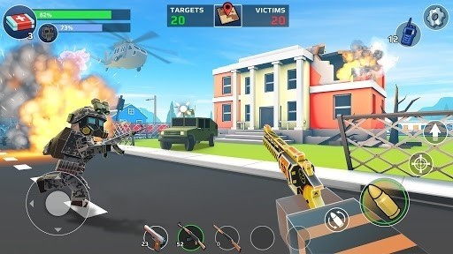 Скриншот Battle Ground для Android