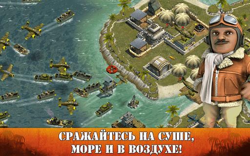 Скриншот Battle Islands для Android
