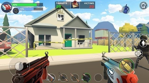 Скриншот Battle Royale: FPS Шутер для Android