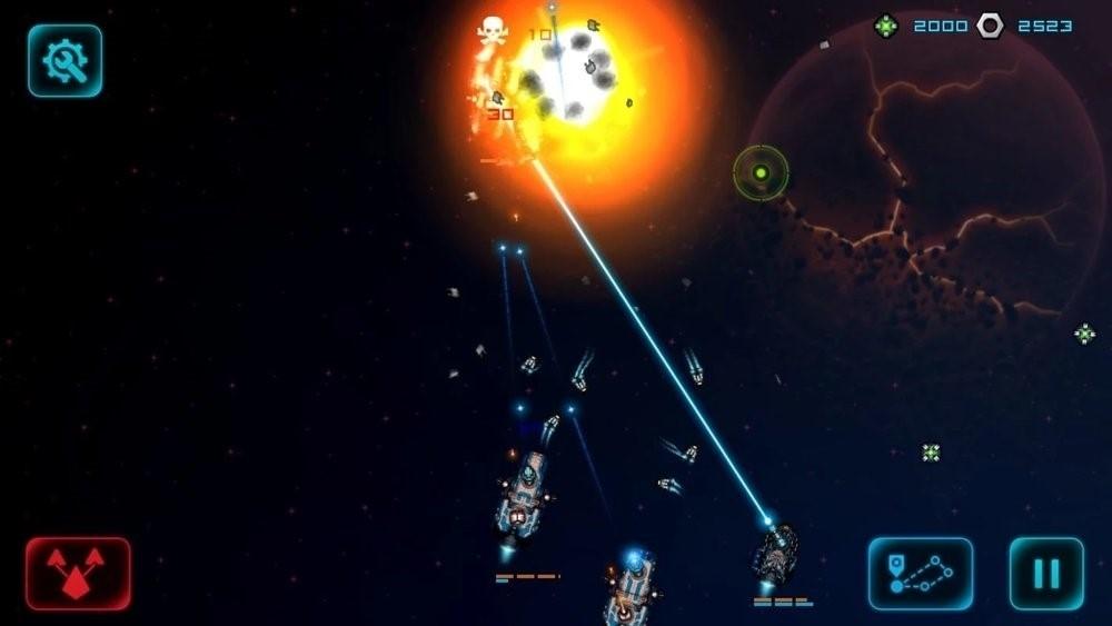Скриншот Battlestation: Harbinger для Android