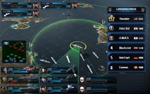Скриншот Battle Warship Naval Empire для Android