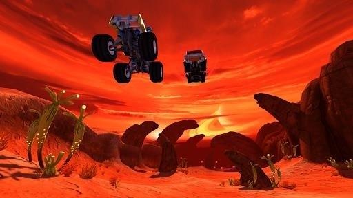 Скриншот Beach Buggy Racing для Android