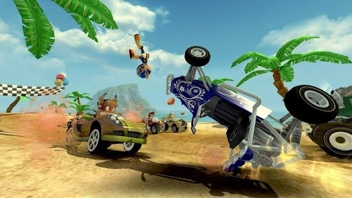 Скриншот Beach Buggy Racing для Android