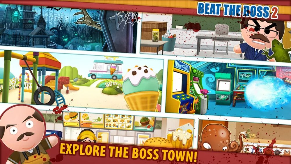 Скриншот Beat The Boss 2 для Android