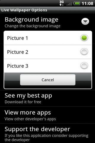 Скриншот Белый тигр Обои для Android