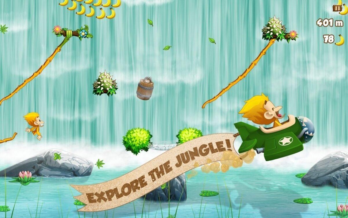 Скриншот Benji Bananas для Android
