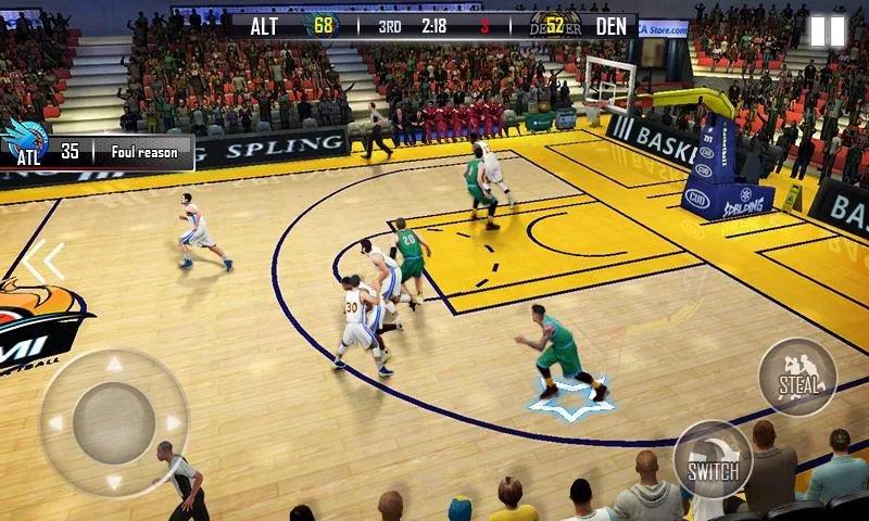 Скриншот Бешеный баскетбол для Android