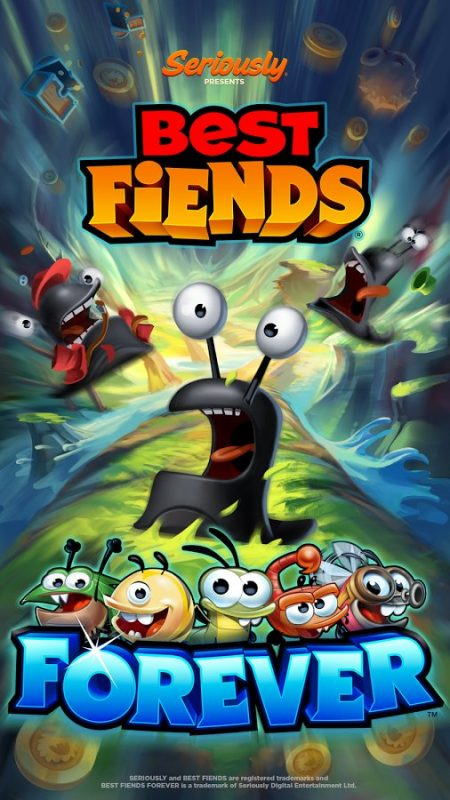 Скриншот Best Fiends Forever для Android