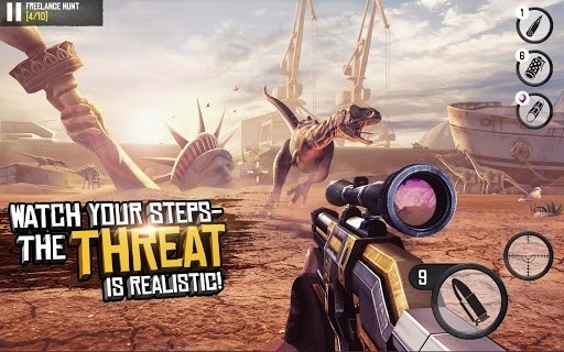 Скриншот Best Sniper: Shooting Hunter 3D для Android