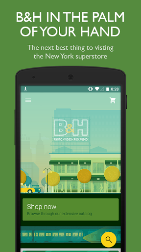 Скриншот B&H Photo Video Pro Audio для Android