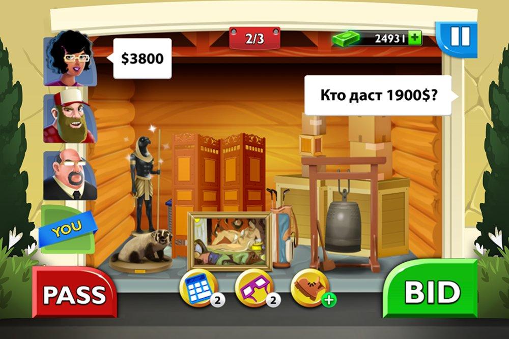 Скриншот Bid Wars: Storage Auctions для Android