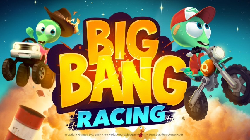 Скриншот Big Bang Racing для Android