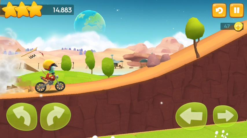 Скриншот Big Bang Racing для Android
