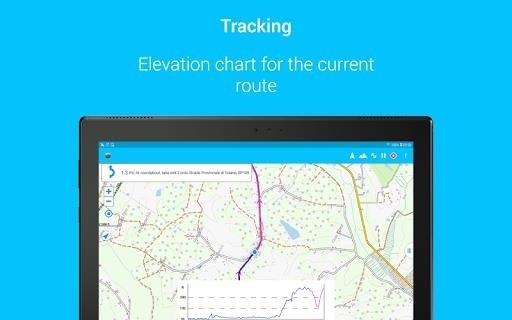 Скриншот BikeComputer Pro для Android