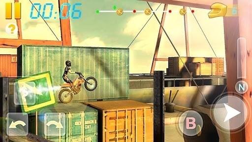 Скриншот Bike Racing 3D для Android