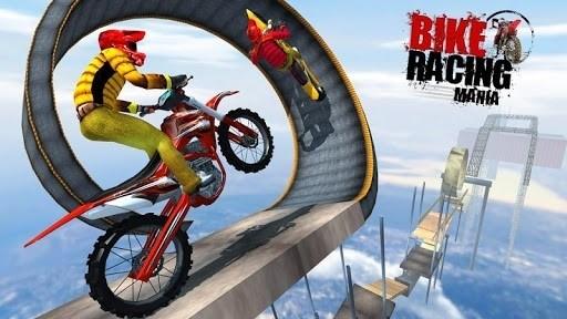 Скриншот Bike Racing Mania для Android