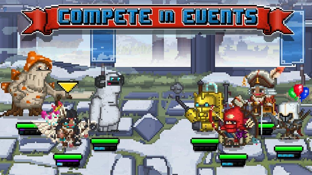 Скриншот Bit Heroes для Android