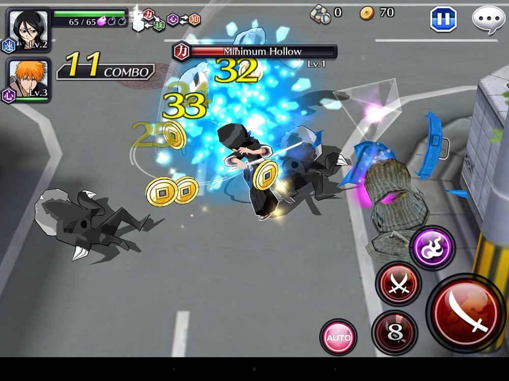 Скриншот BLEACH Brave Souls для Android