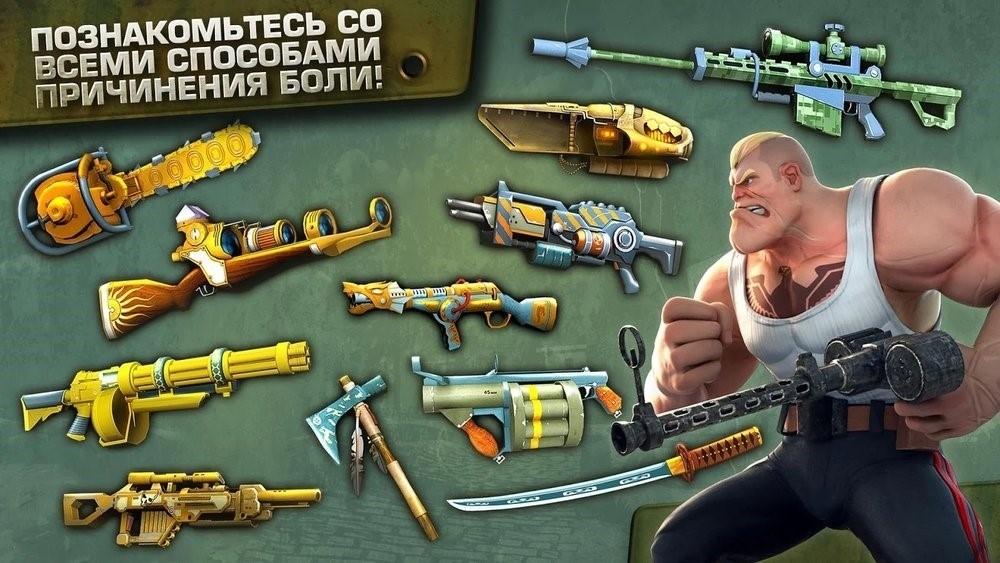 Скриншот Blitz Brigade для Android